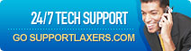 SupportLaxers 24/7 TECH SUPPORT